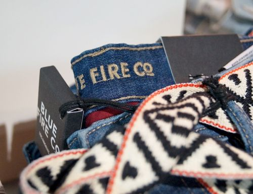 Blue Fire Co. Jeans